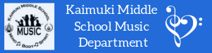 Kaimuki Middle School Music Department
